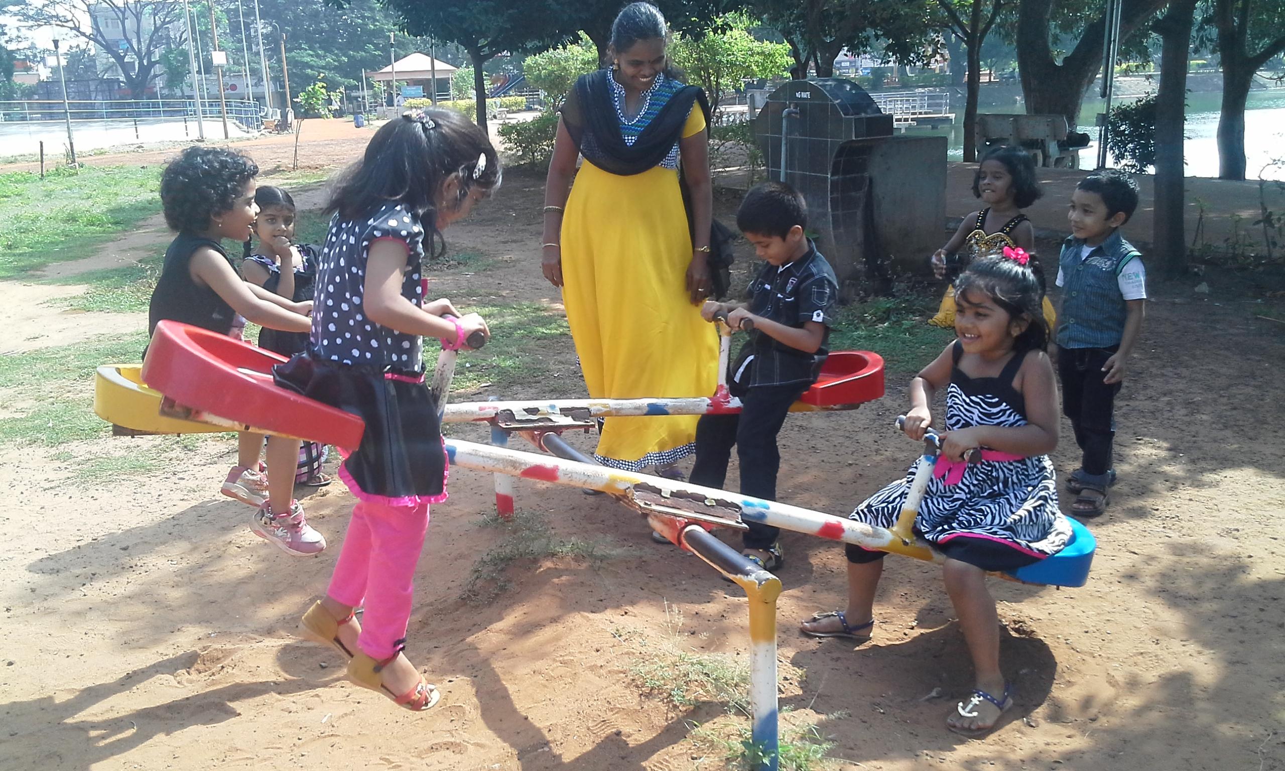 Fun Day - LKG and UKG Kids - Subha Niketan School