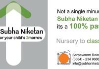 Subha Niketan - 100% Result in Intermediate Result