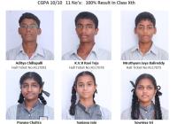 9.8 By 10 - Subha Niketan School - 10th Class Results